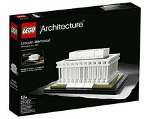 Load image into Gallery viewer, LEGO Architecture Lincoln Memorial Hall 21022