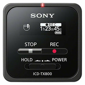 SONY IC Recorder ICD-TX800 Black White 16GB (F/S Tracking #) Japan NEW