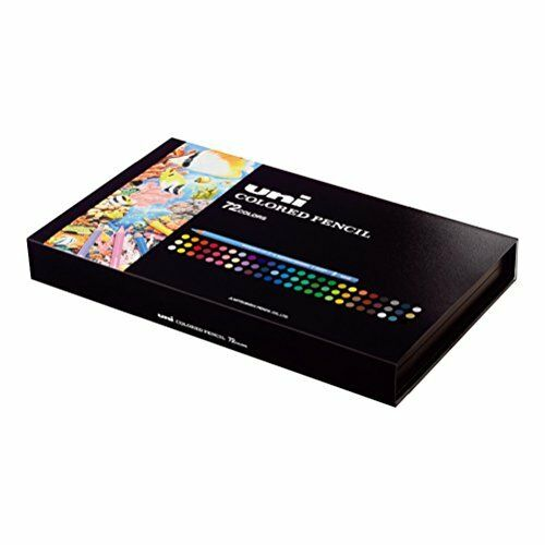 NEW Uni Mitsubishi Pencil 72 Colors Penci Set UC72C Free Shipping from Japan
