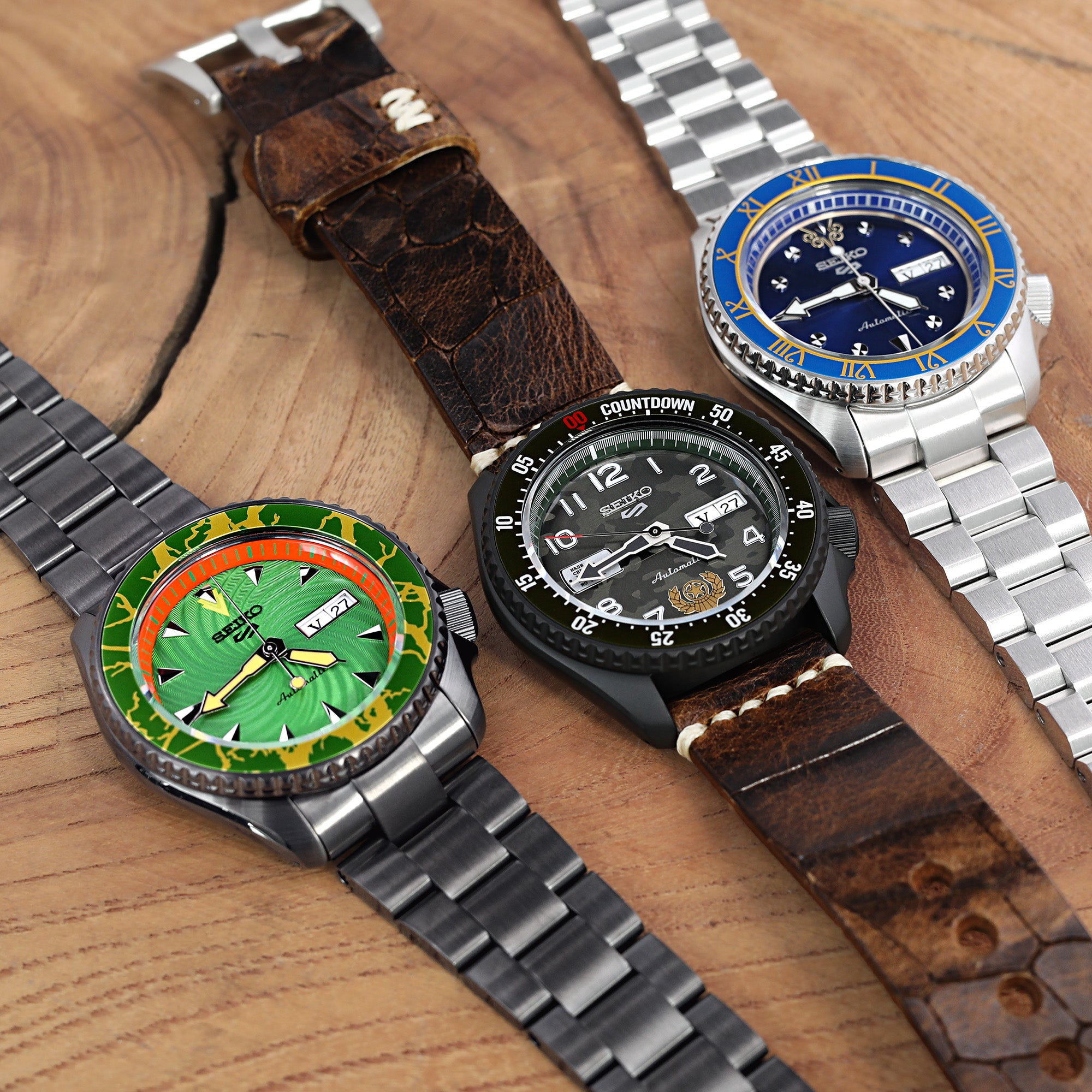 Seiko Street Fighter 5 Sports LE Watches!