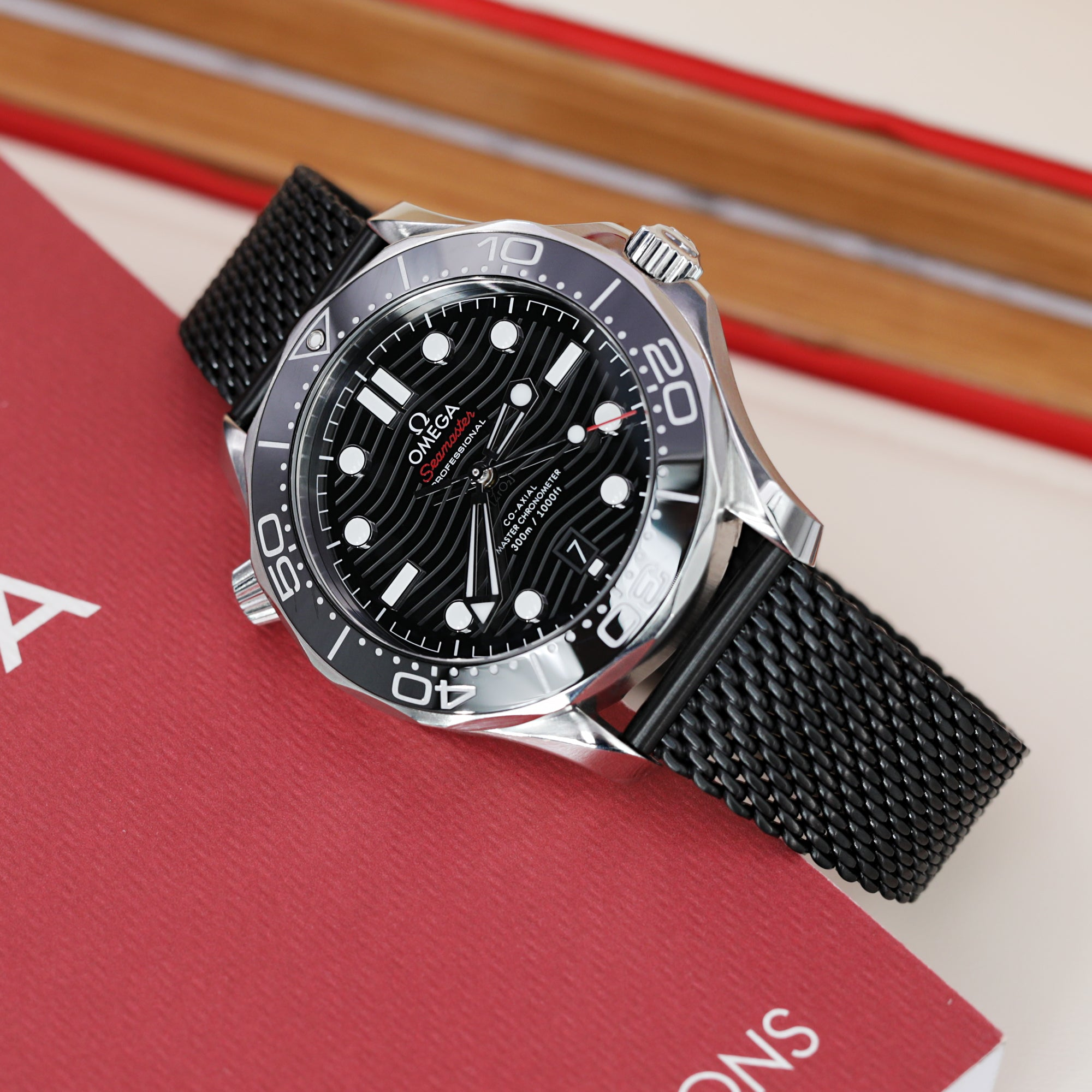 Omega Seamaster Diver 300M Co-Axial Master Chronometer 42MM Ref. 210.30.42.20.01.001