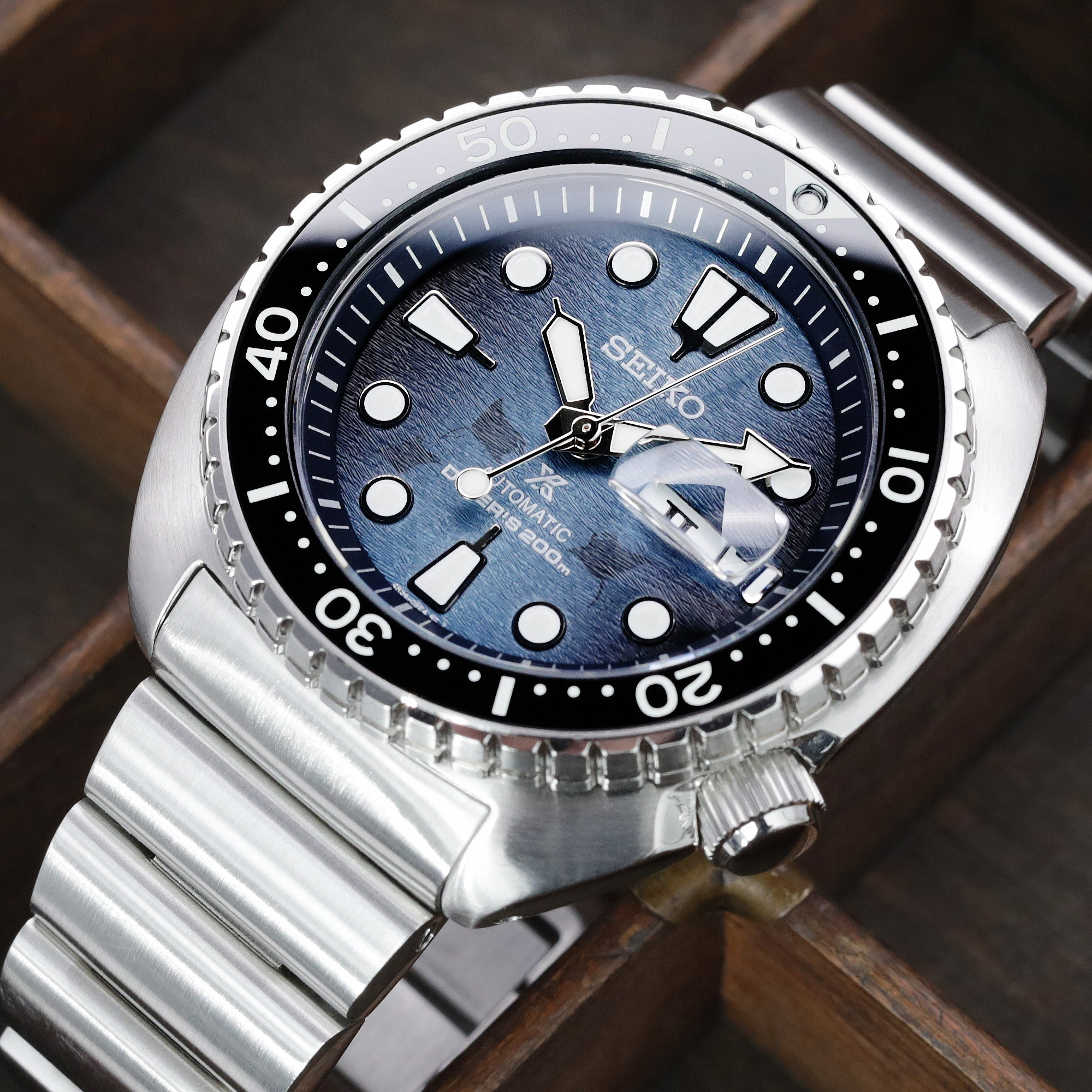 Seiko King Turtle Save the Ocean SRPF77
