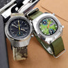 Affordable Vintage Chronograph Watches : Citizen 8110 and Seiko 6139 Helmet