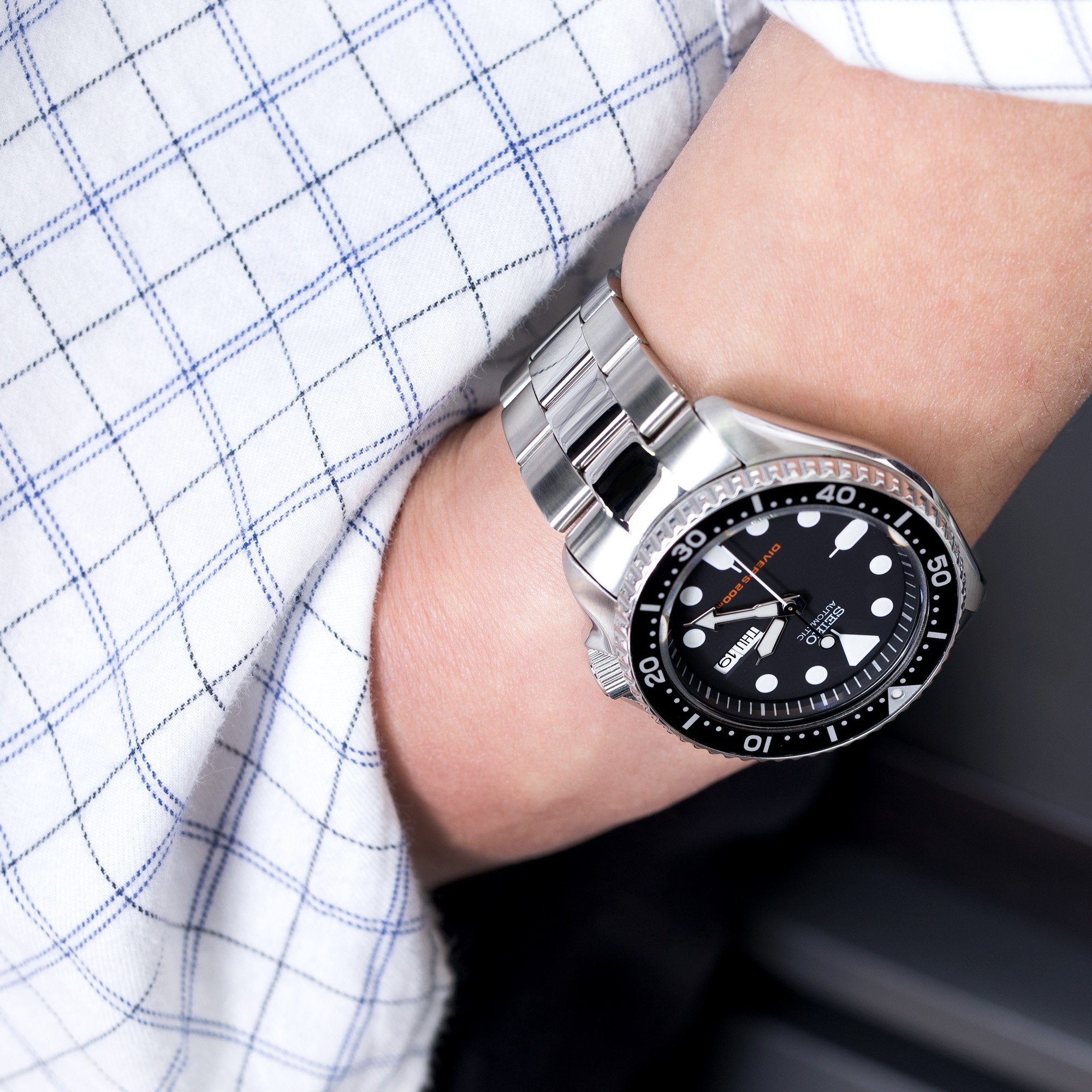 Upgrade your Seiko to last for eternity and make it more valuable than its price tag