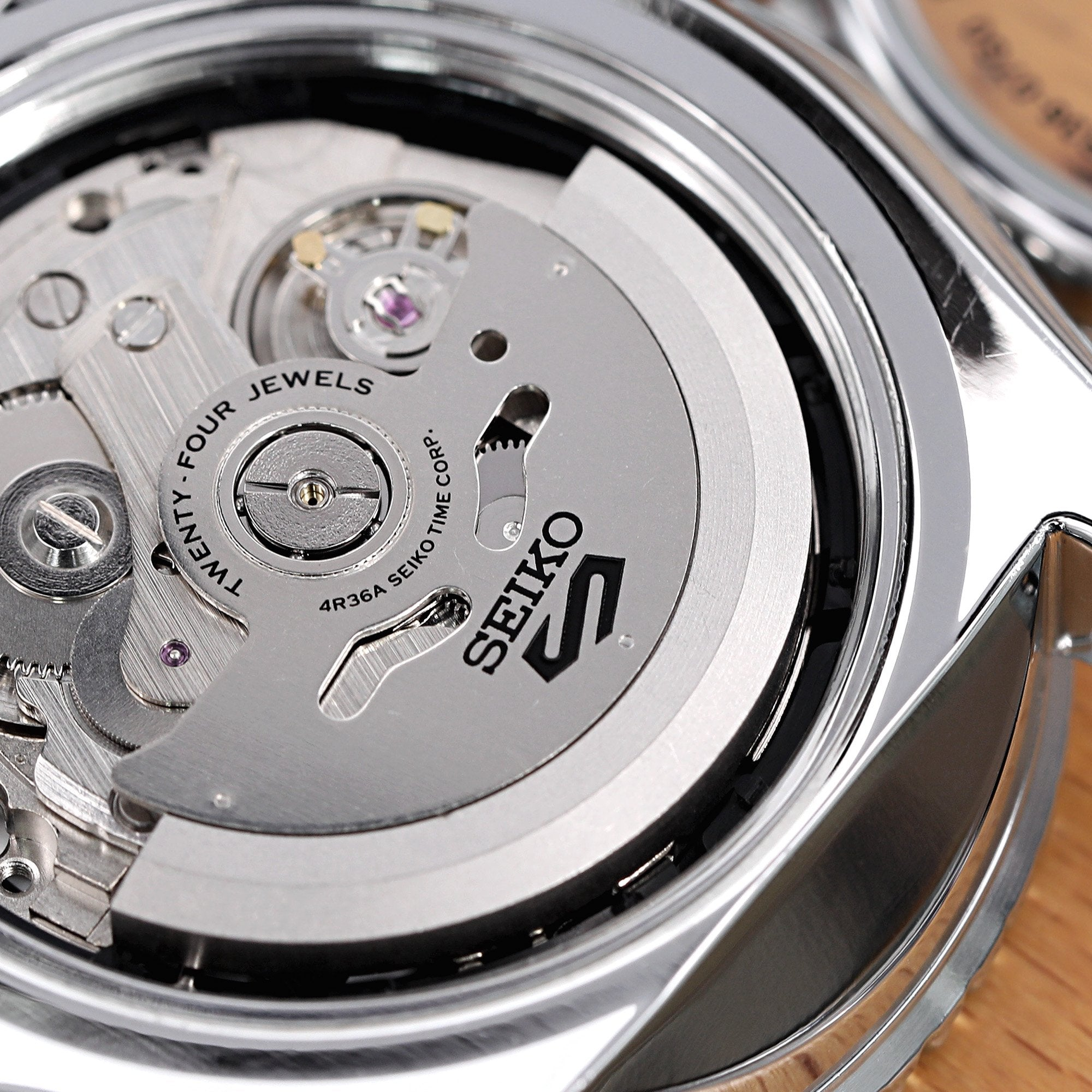 What is Seiko caliber 4R36?
