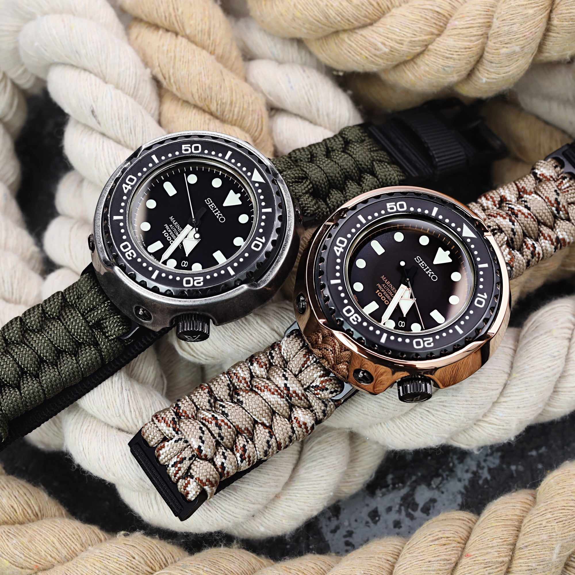 Paracord watch bands by TRILOTAC - Adventure Travel Essentials