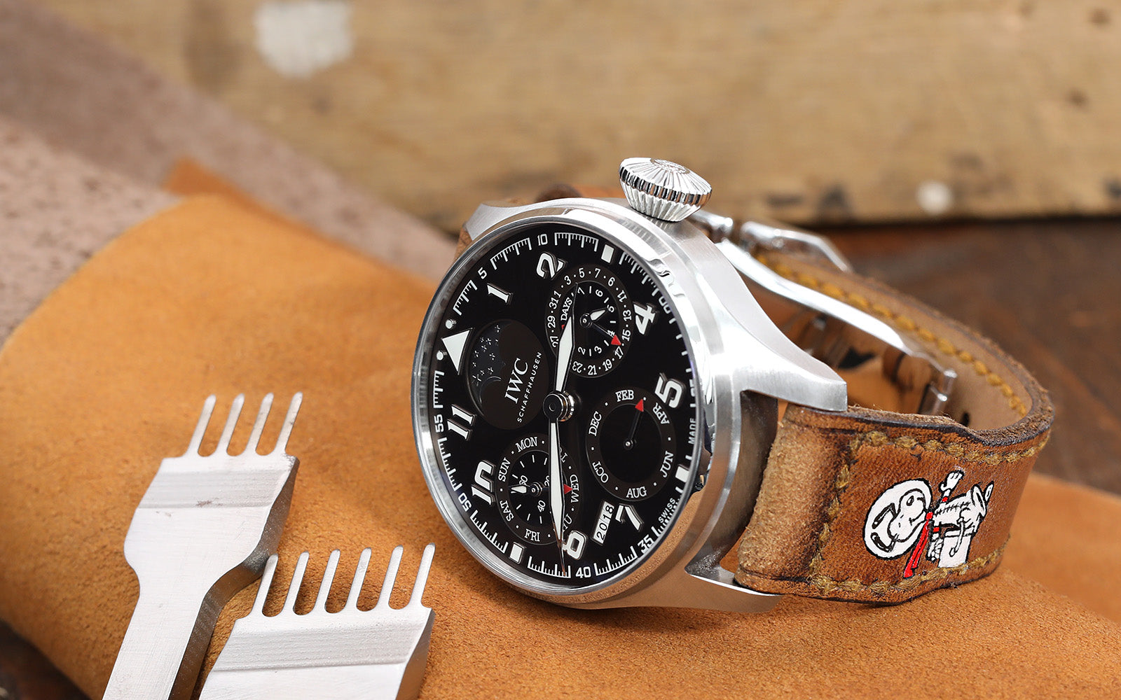 For IWC Big Pilot