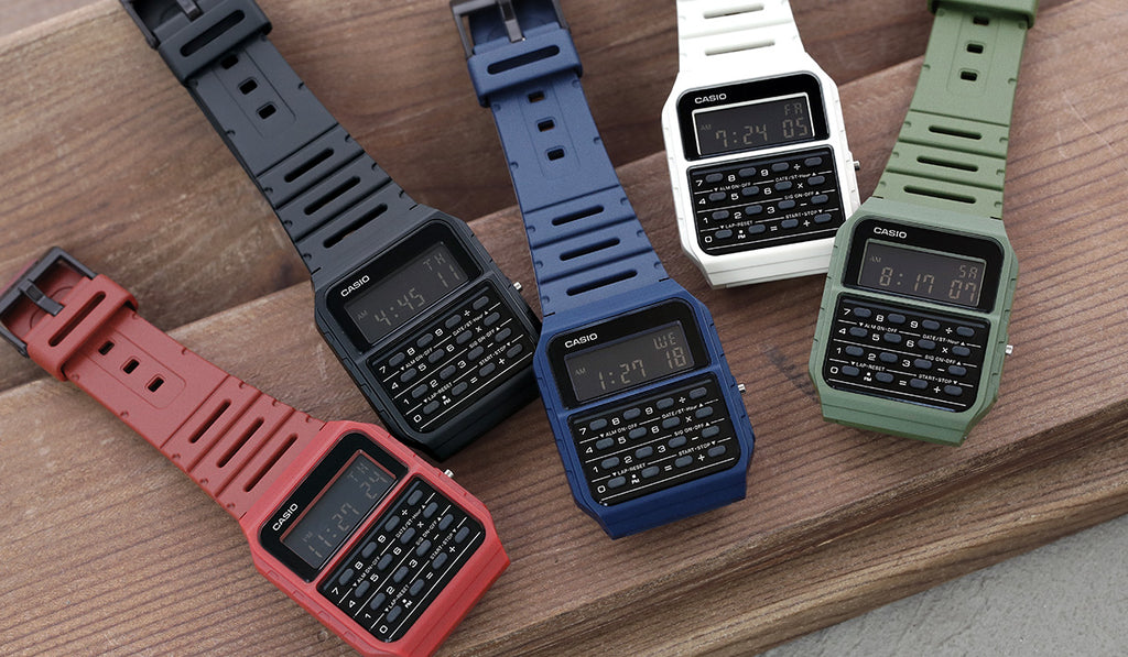 Casio-Calculator-Watch-Group-strapcode-watch-bands