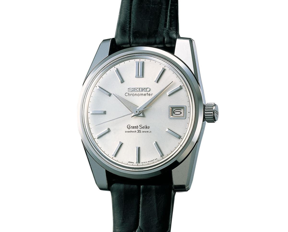 1964 Grand Seiko Chronometer Self Dater Diashock