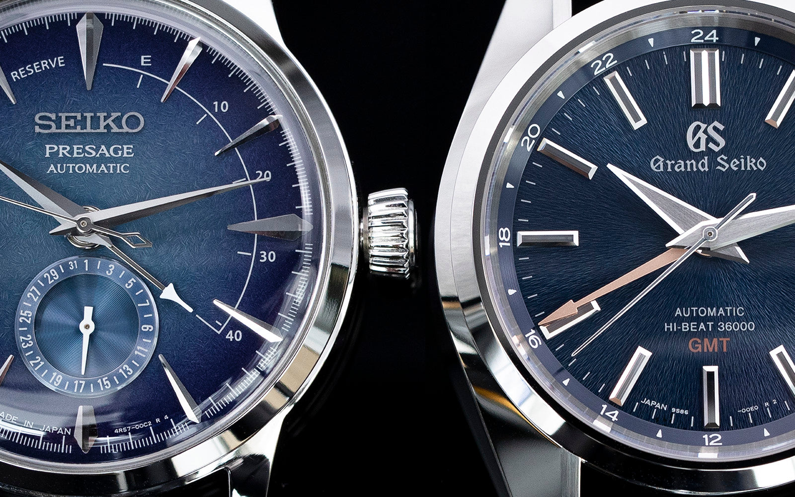 2 watches, Seiko Presage Vs Grand Seiko GMT SBGJ235 Hi-Beat