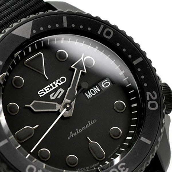 New-Seiko-5-Sports-SRPD79K1-SBSA025-Black-Black