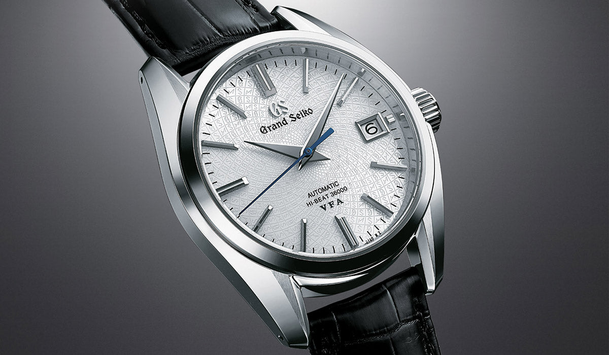 Grand Seiko Hi-Beat Automatic V.F.A. Limited edition 20th Anniversary of Caliber 9S