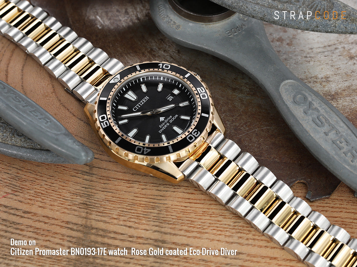 Citizen Promaster BN0193-17E watch  Rose Gold coated Eco-Drive Diver