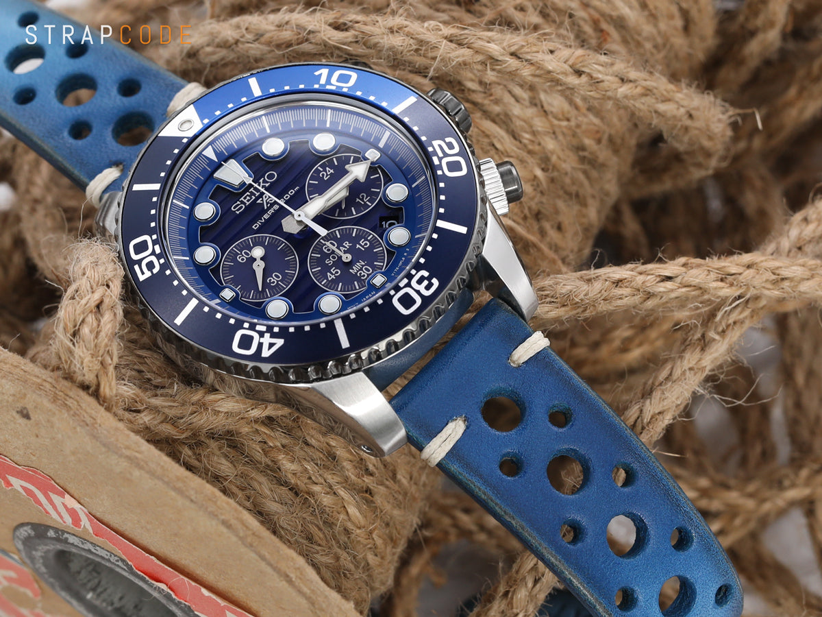 Seiko Watch Prospex Save the Ocean Special Edition Solar Chronograph SSC675P1