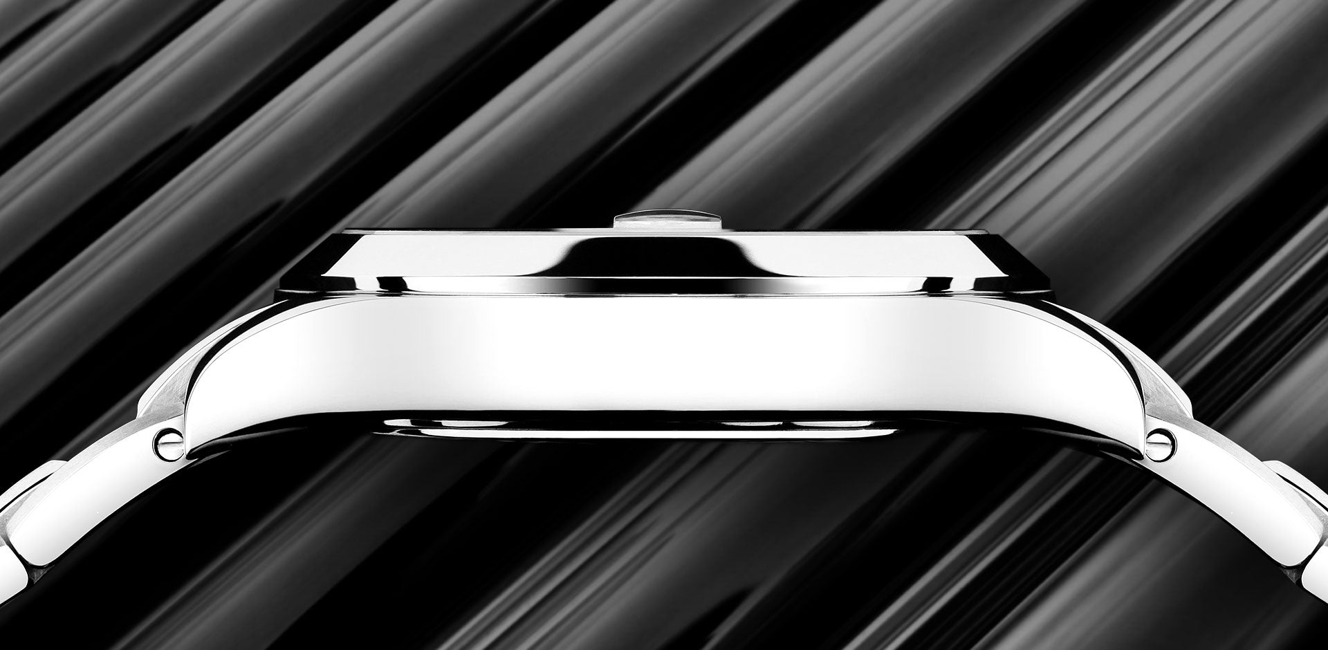 904L Grade Stainless Steel, image from BALL watch