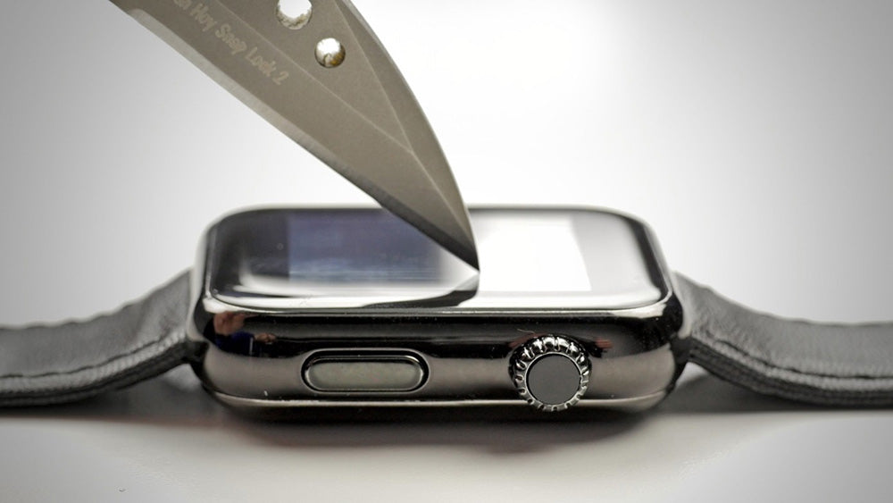High-End Apple Watches Use Sapphire Crystal Glass