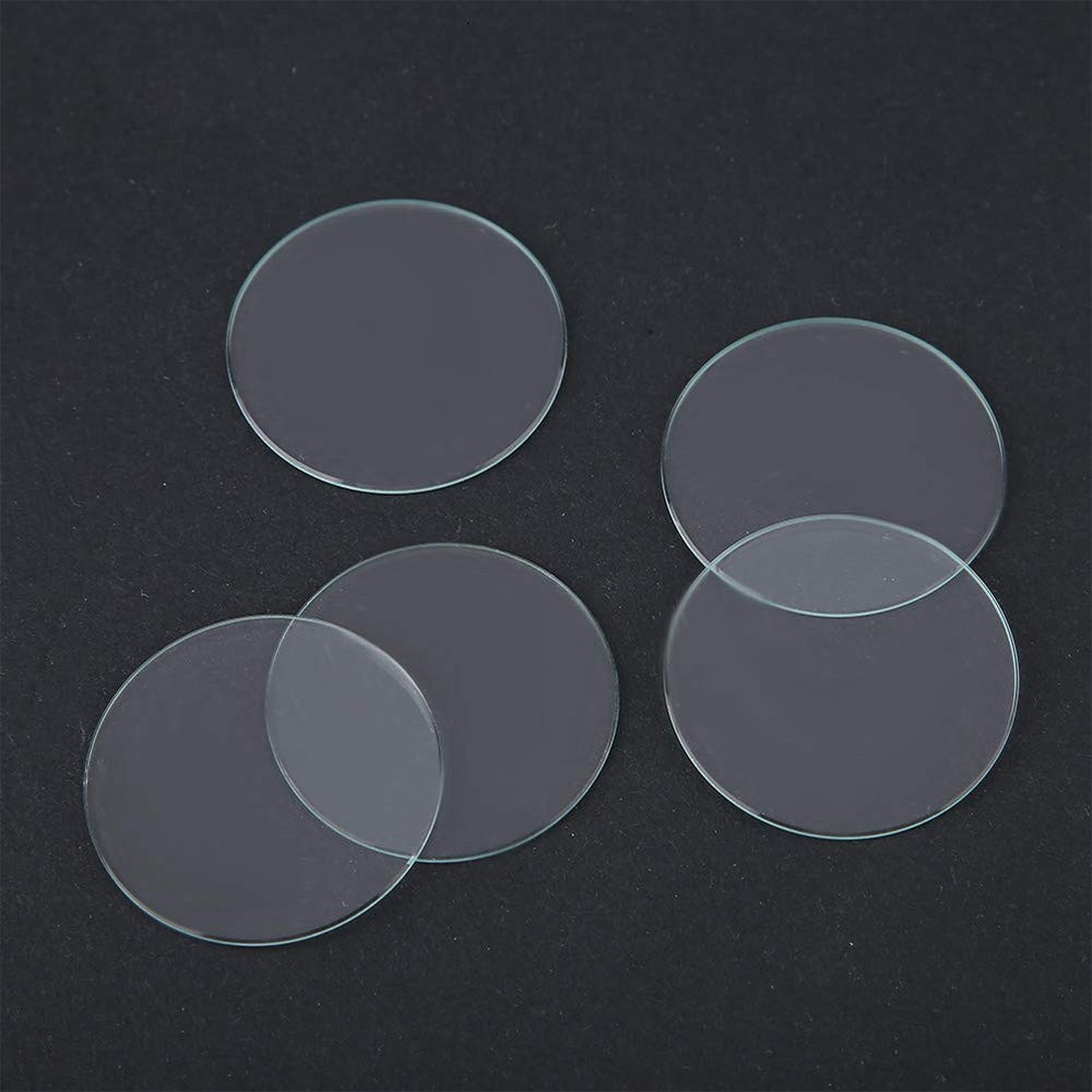 Flat Watch Crystal Lens Glass