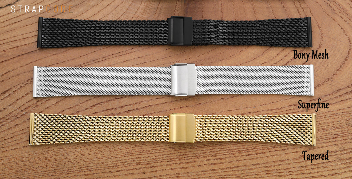 The Best Milanese Mesh Watch Band from MilTAT