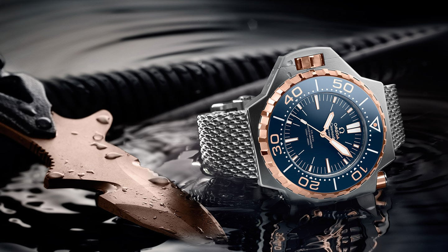 Omega Seamaster Ploproof 1200m, image from Omega.com
