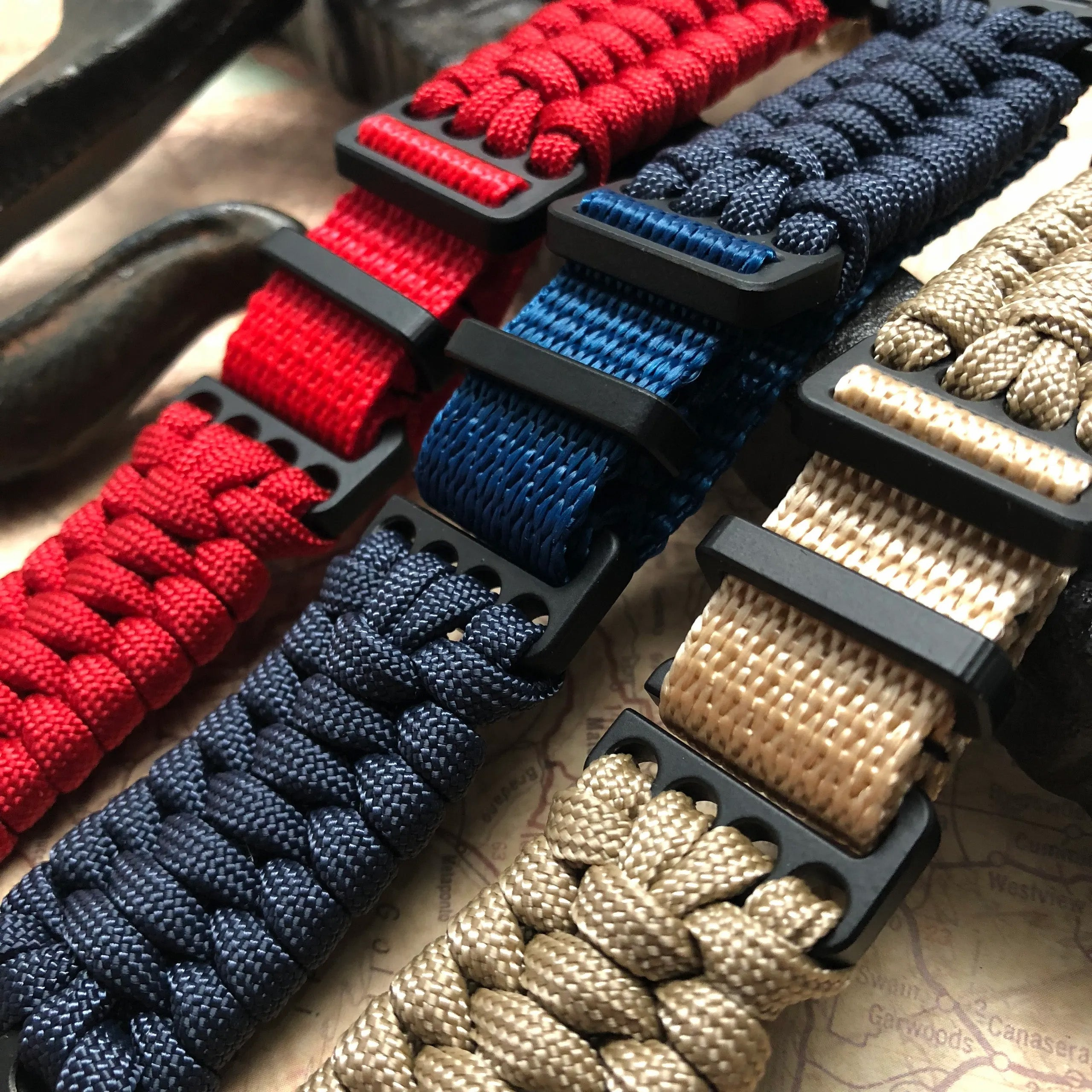 TRILOTAC: Paracord Watch Band