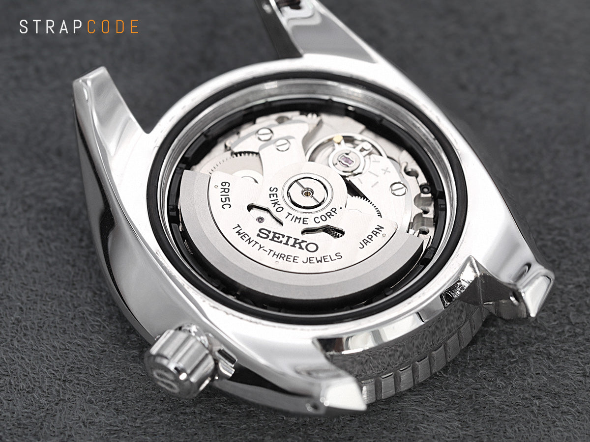 Seiko mechanical movements - Seiko caliber 6R15 Review