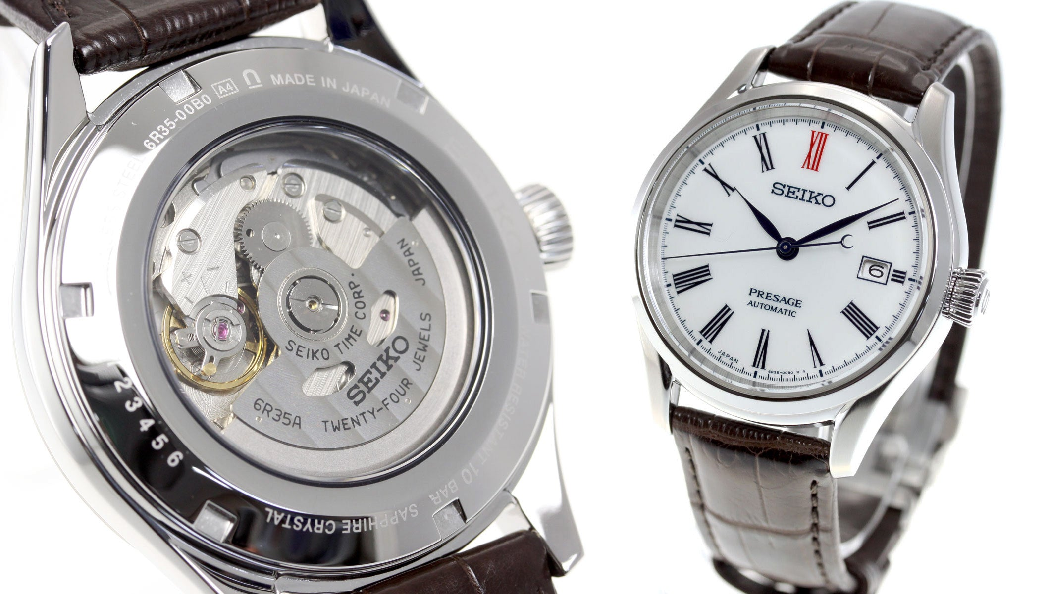 Seiko-Presage-SARX061-and-6R35-Caliber