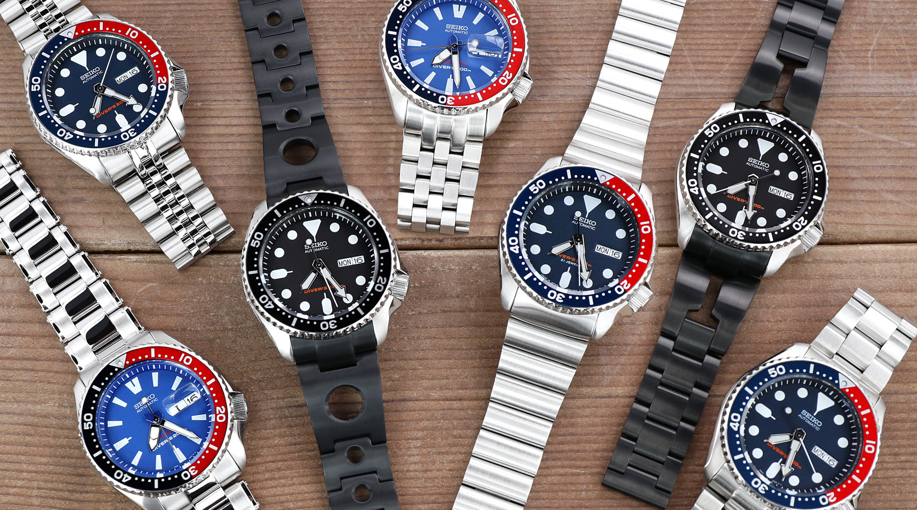 Seiko SKX007 vs SKX009  Seiko watch bands