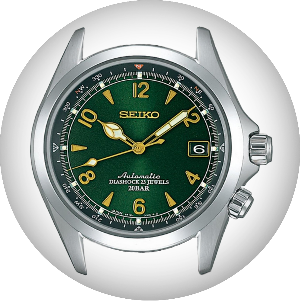 Seiko watch bands for Seiko Alpinist SARB017 by Strapcode