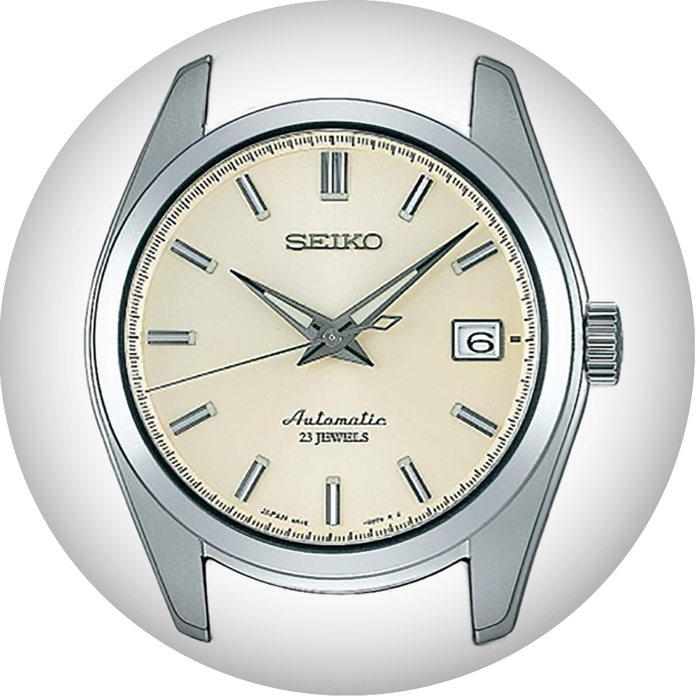 Seiko watch bands for Seiko SARB035 Ivory by Strapcode