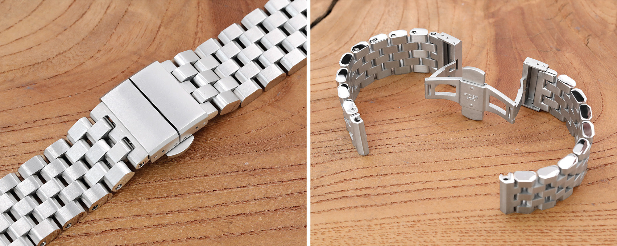 Strapcode watch bands, Deployment clasp for metal watch bands