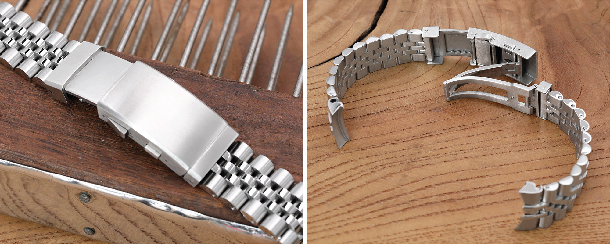 Strapcode watch bands, Wetsuit Ratchet Watch clasp