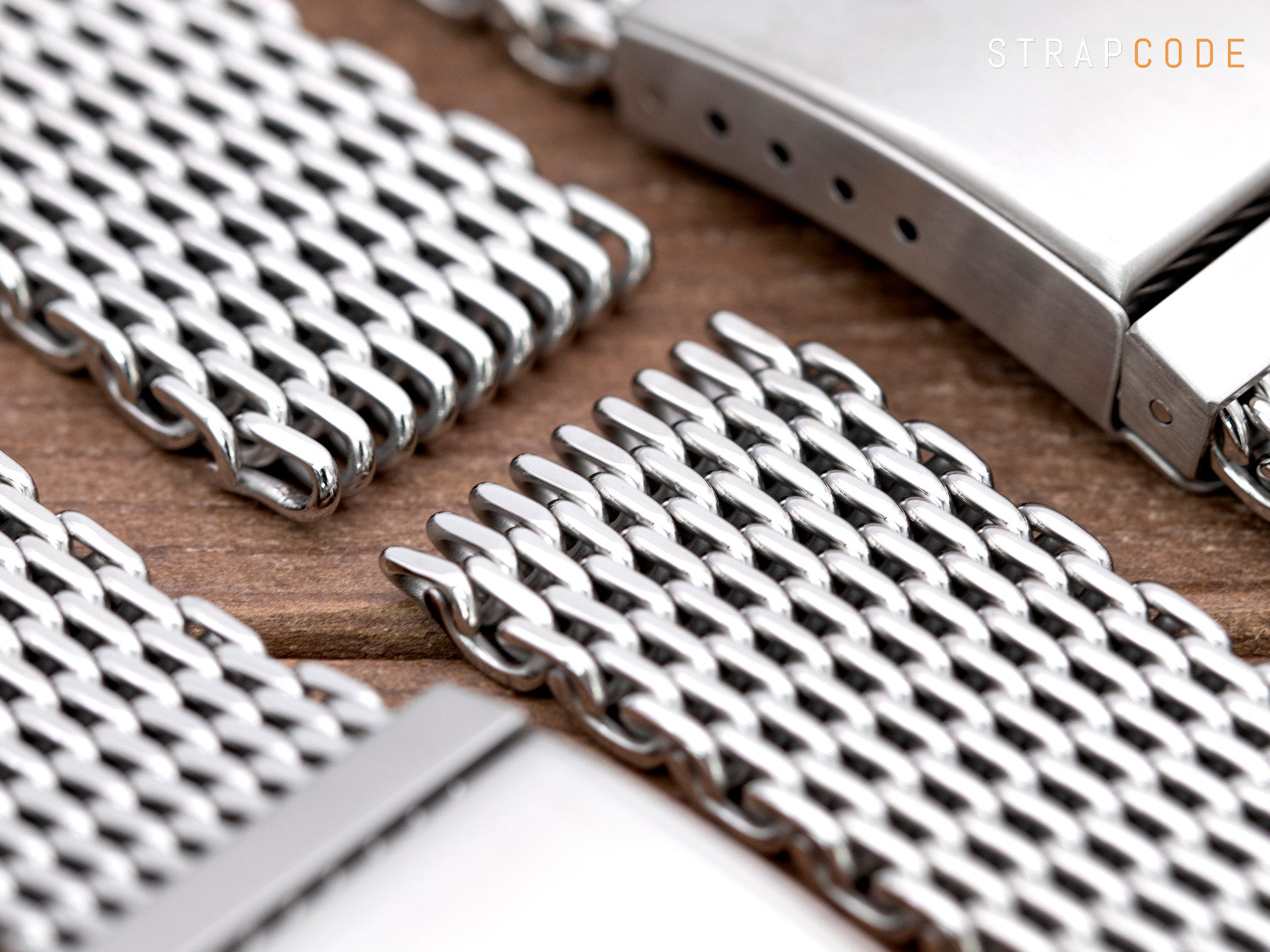 Original Omega Ploprof SHARK Mesh Band -Detail