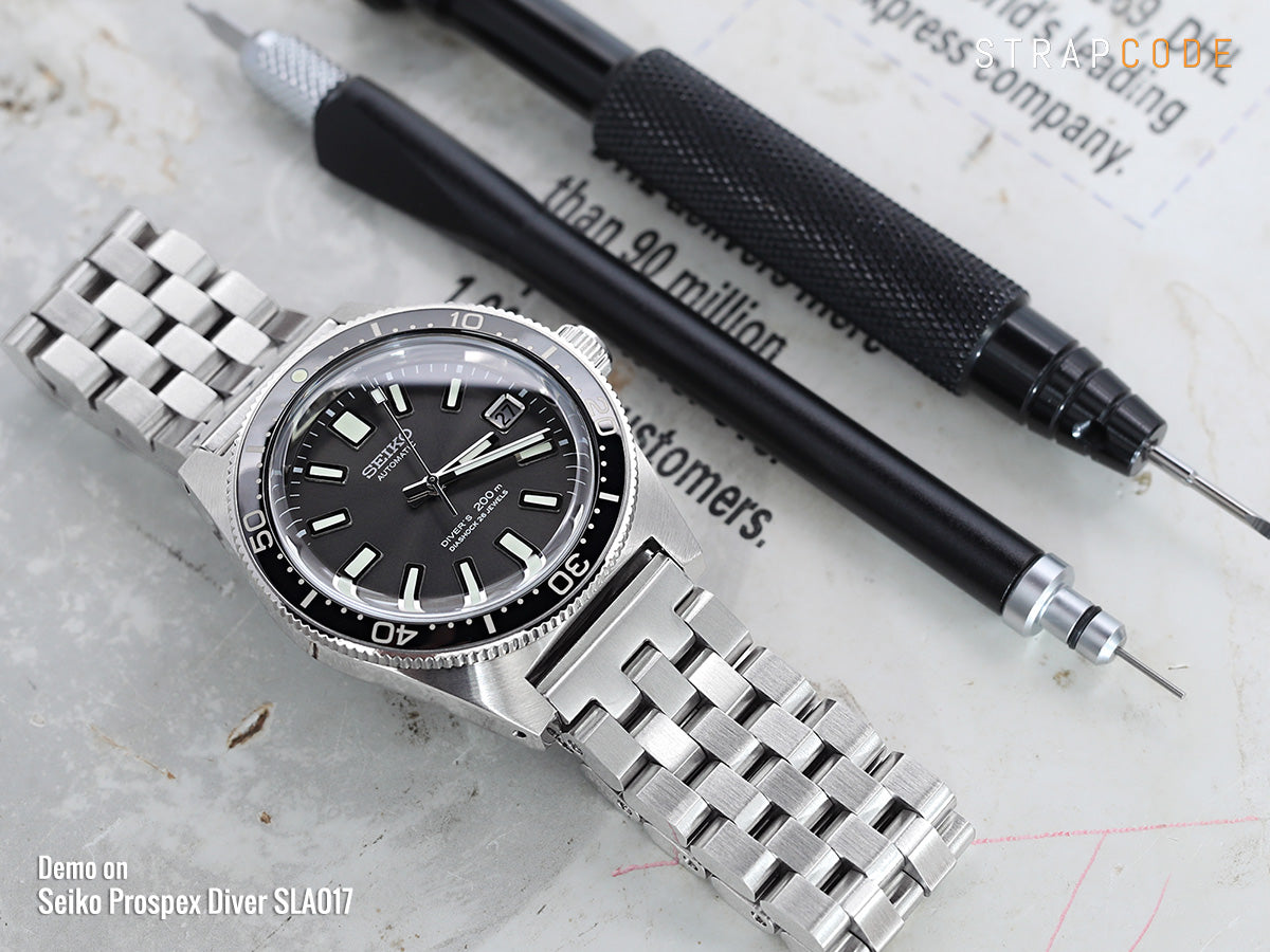 19mm Seiko watch bands by Strapcode