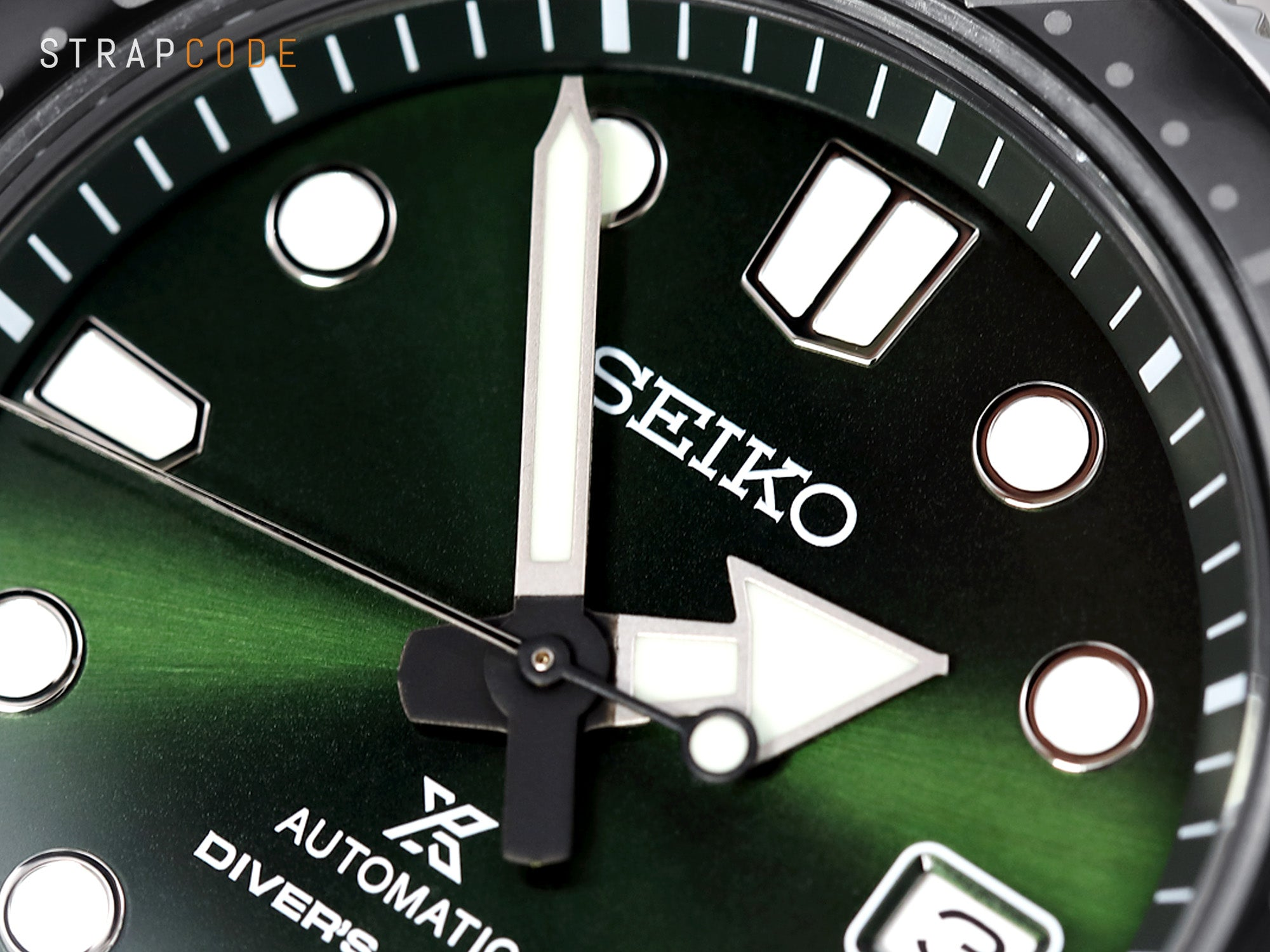 Seiko Prospex Ginza SBDC079 Baby MM in details - Dial close up