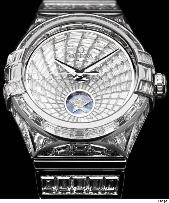 Omega Constellation Baguette, the most expensive Omega watch
