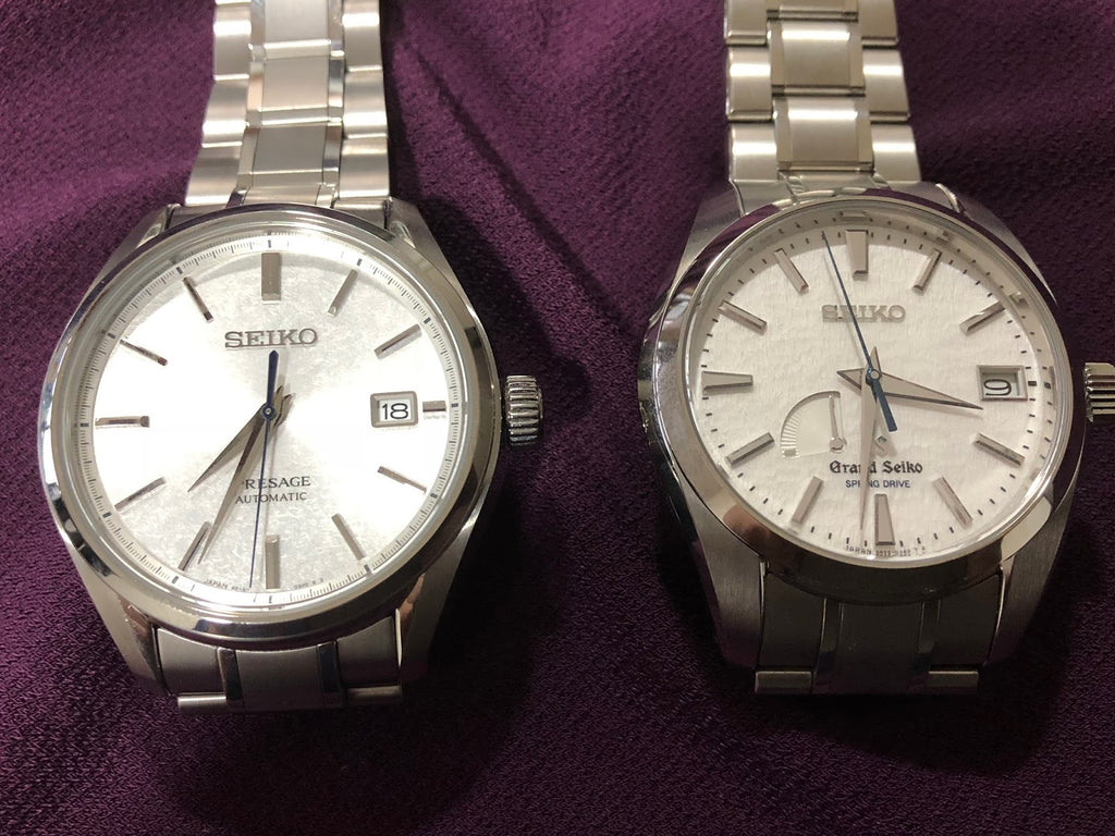 strapcode-watch-bands-2_Seiko_presage_vs_Grand_Seiko_SARX055_Baby_Snowflake