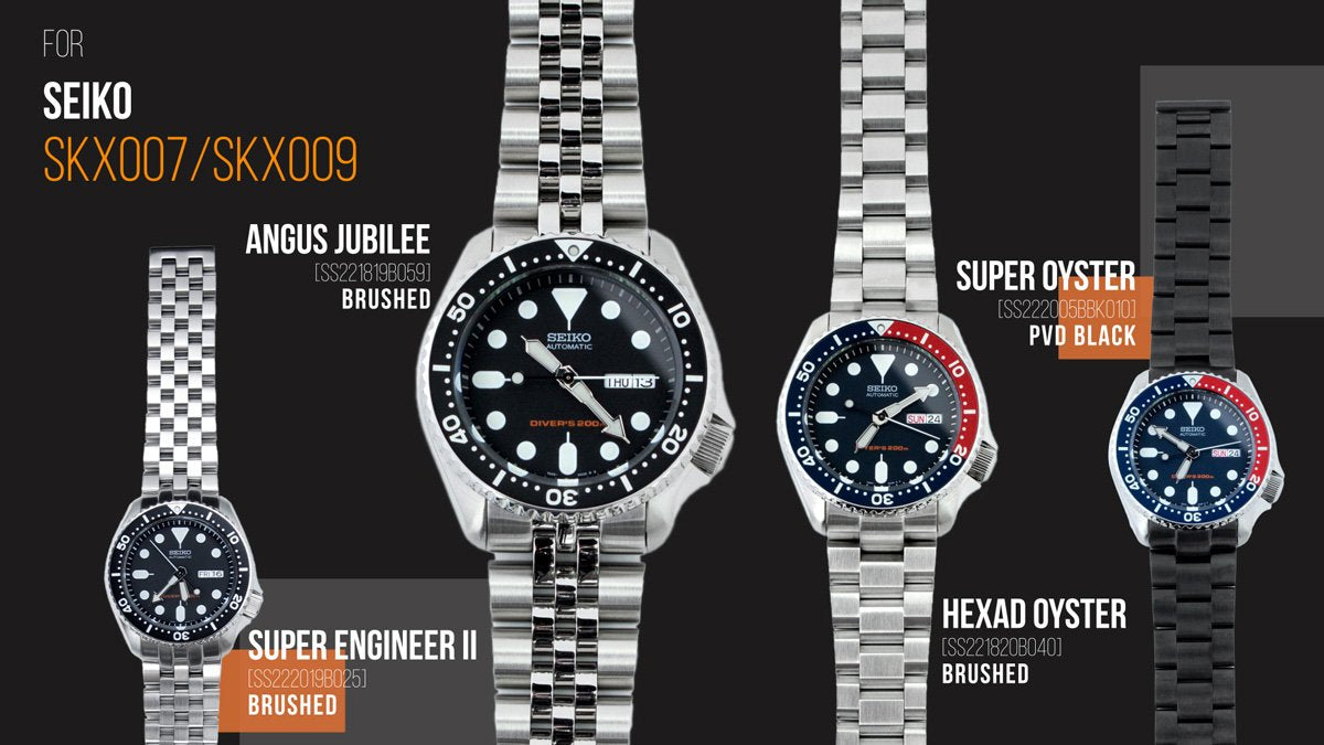 strapcode-watch-bands-Strapcode-SKX007-staiinless-steel-bracelet-full-collection