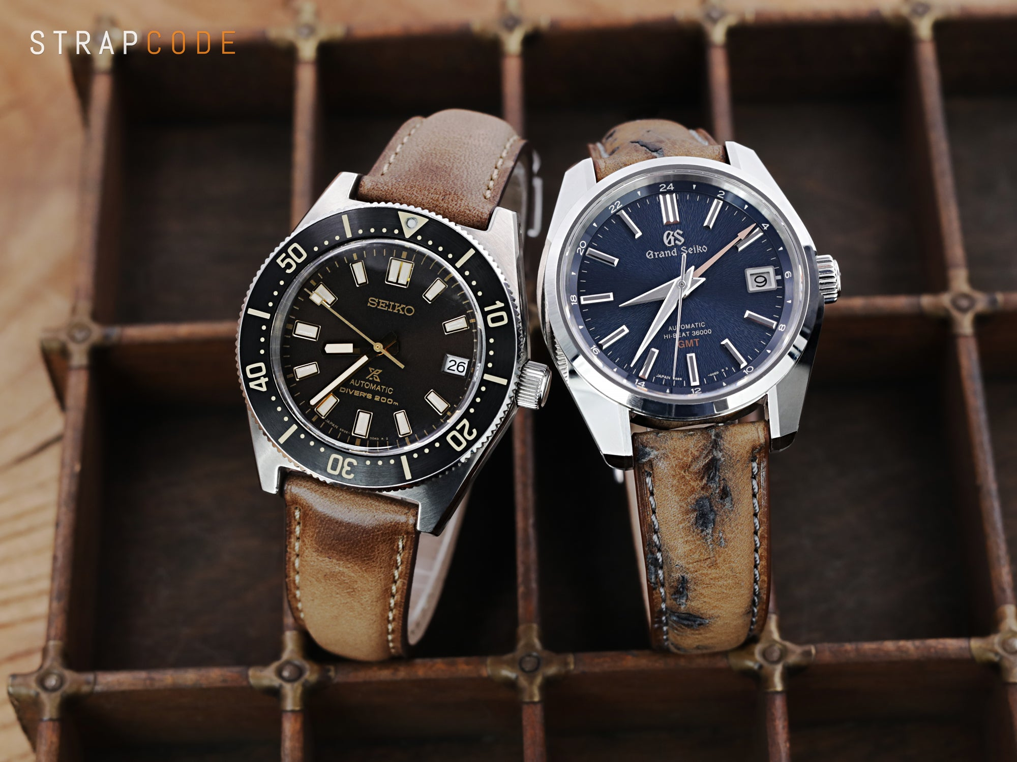 Itaian Leather watch straps by strapcode