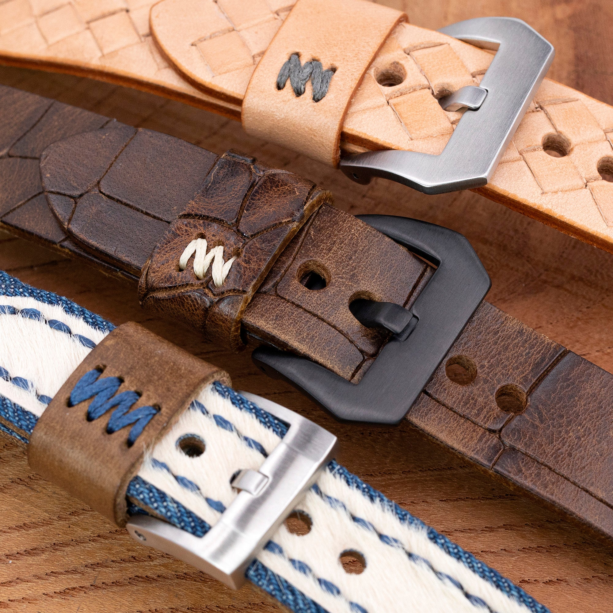 MiLTAT ZiZZ leather watch bands collection