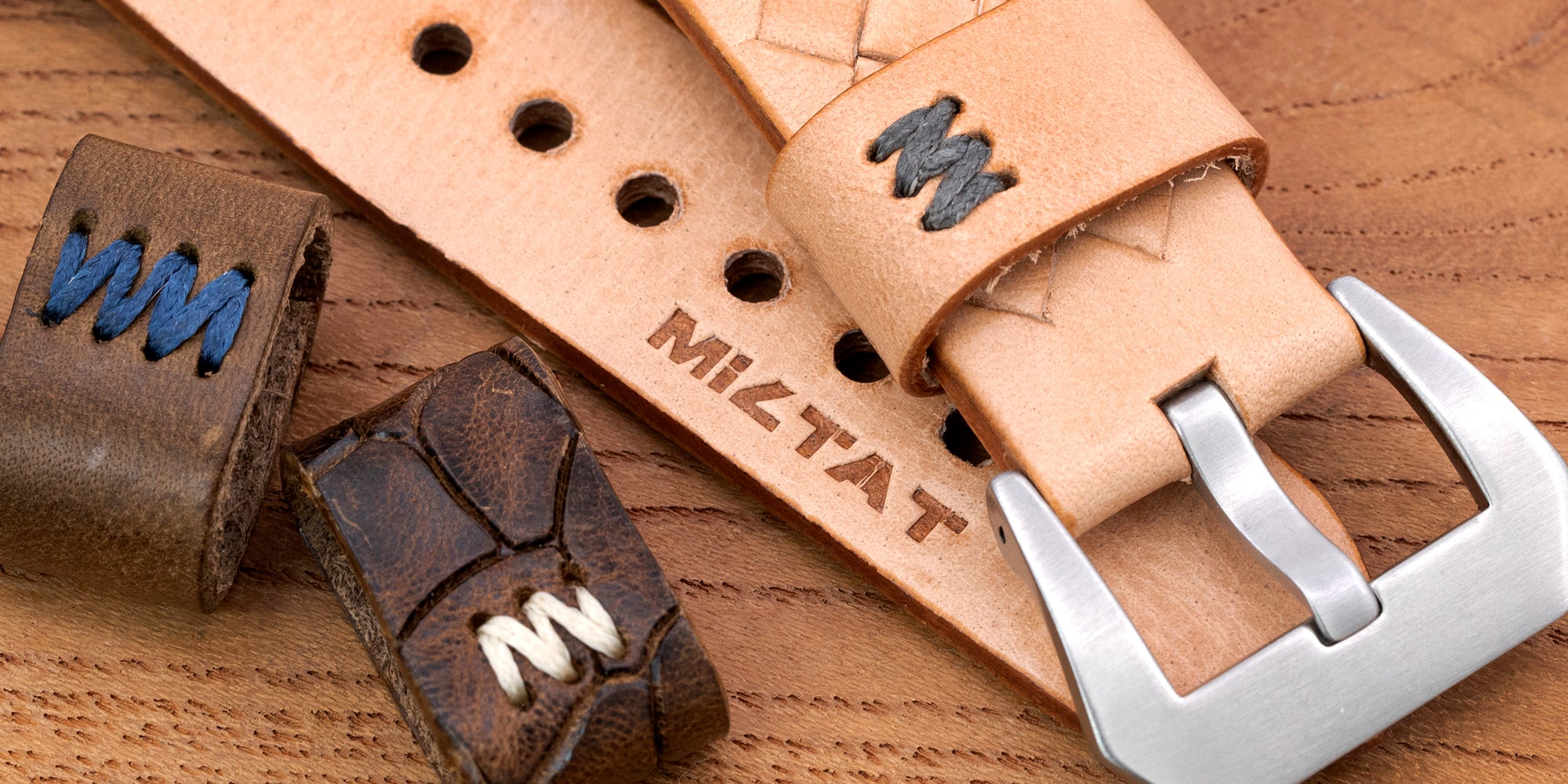 Miltate Zizz collection, strapcode watch bands