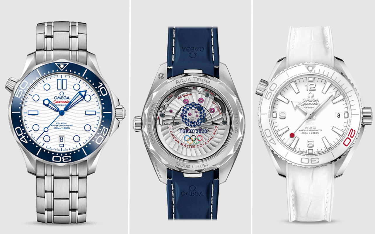 Olympic Games Tokyo 2020 Omega Seamaster Collection