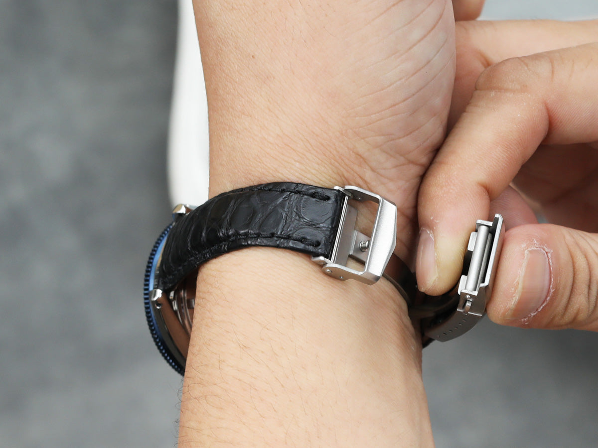 wear watchstrap with diver clasp