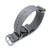MiLTAT 22mm G10 Military Waffle ZULU Watch Strap, Nylon Armband, Brushed - Military Grey