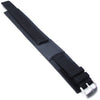 MiLTAT 22mm Double Layer Nylon Black Tactical Velcro Watch Strap, design for Seiko SKX007 - Strapcode