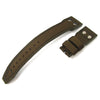 22mm MiLTAT Green Honeycomb Nylon IWC Big Pilot replacement Rivet Strap