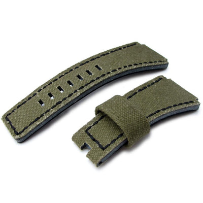MiLTAT Canvas for Bell & Ross BR01, Green
