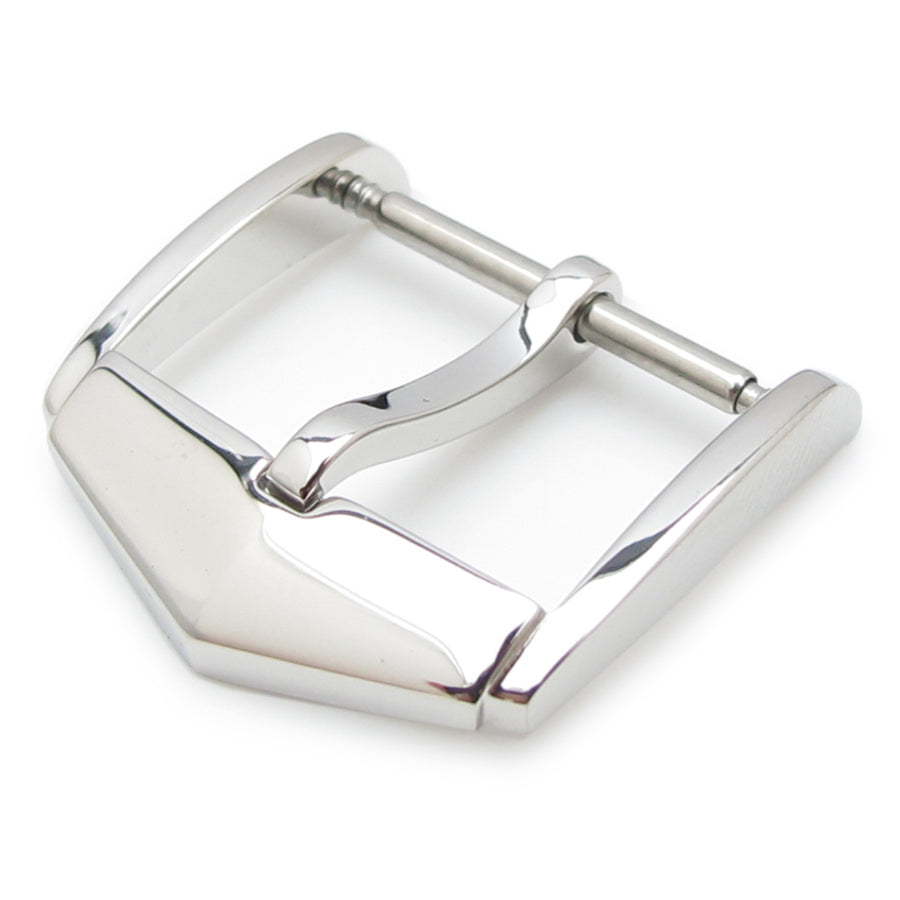 TAG Style, 20mm Top Quality Stainless Steel 316L Spring Bar type Buckle, Polished finish