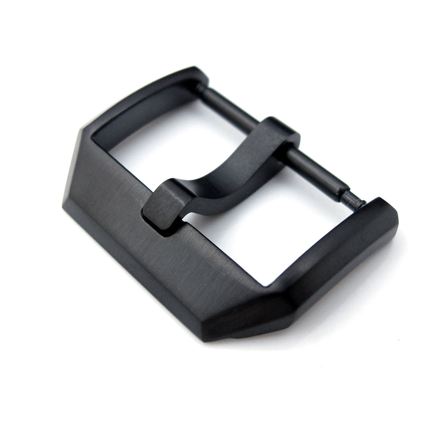 20mm 21mm 23mm Top Quality Stainless Steel 316L Spring Bar type 3mm-Tongue Buckle PVD Black Strapcode Buckles
