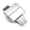 20mm 22mm Deployment Buckle Clasp Sandblast Stainless Steel with Release Button Strapcode Buckles