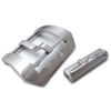 Brushed 316L stainless steel screw-in Submarine Embossed removable detail Tang Buckle